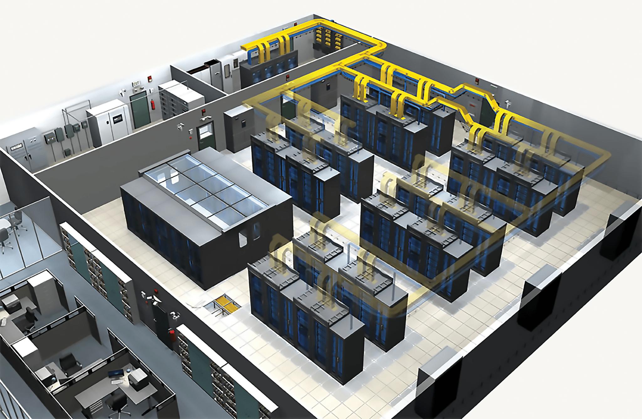 Projeto de Data Center 3D